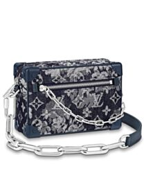 Louis Vuitton Mini Soft Trunk M80033 Dark Blue