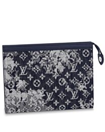 Louis Vuitton Pochette Voyage M80034 Dark Blue