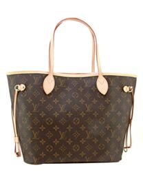 Louis Vuitton Monogram Neverfull M40156 Brown