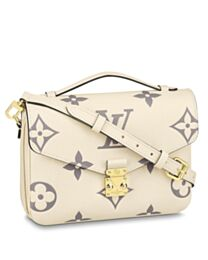 Louis Vuitton Pochette Metis Exclusively Online M45596 Cream