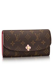 Louis Vuitton Emilie Wallet M64202 Peachblow