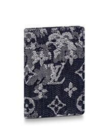 Louis Vuitton Pocket Organizer M80025 Dark Blue