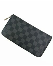 Louis Vuitton Damier Wallet N62668 Black