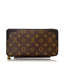 Louis Vuitton Monogram Wallet M60679 Brown