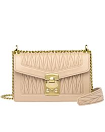 Miumiu Confidential Matelasse Nappa Leather Bag 5BD083