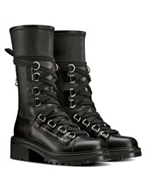 Christian Dior Women's D-Fight Ankle Boot Black