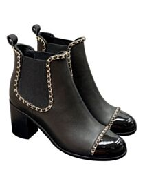 Chanel Women's Chain Boots