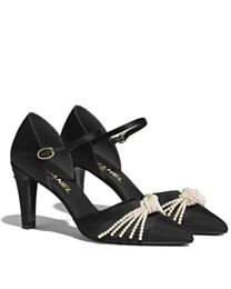 Chanel Women's Pumps With Straps Black