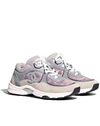 Chanel Unisex Sneakers Gray