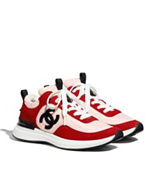 Chanel Women's Trainers G37122 Red