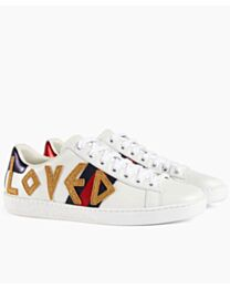 Gucci Unisex Ace embroidered sneaker 505328 White