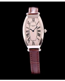 Cartier Automatic Watch For Women Coffee
