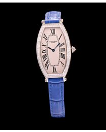 Cartier Diamond Bezel Automatic Watch For Women Blue