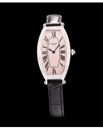 Cartier Diamond Bezel Automatic Watch For Women Black