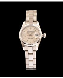 Rolex Stainless Steel Watches Silver