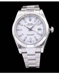 Rolex Datejust Watches with luminous hour markers White