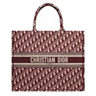 Christian Dior Book Tote bag M1286 Red