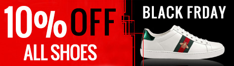 Black Friday Sale, 10% off All Shoes