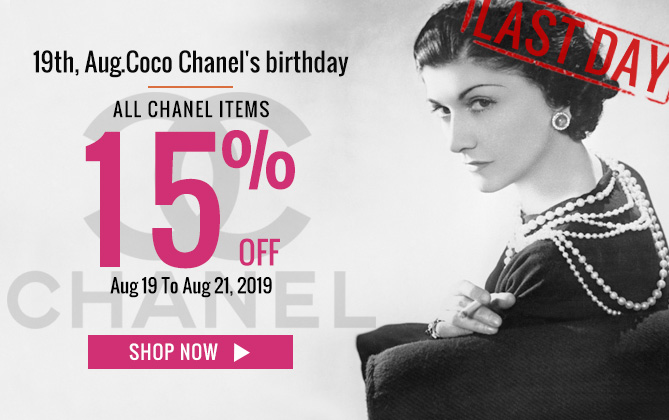coco chanel birthday sale