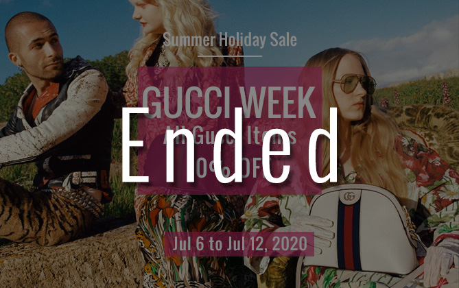 Summer sale Gucci week