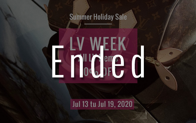 Summer sale Louis Vuitton week