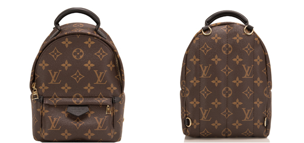 Louis Vuitton Monogram Palm Springs Backpack Mini Bag M41562 Brown