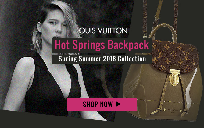 Louis Vuitton Hot Springs Backpack M54389