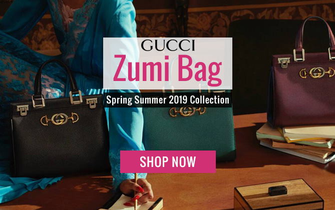 Gucci Zumi Grainy Leather Small Top Handle Bag 569712