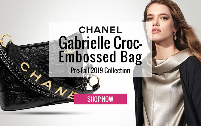 Chanel Gabrielle Small Hobo Bag AS0865 Black