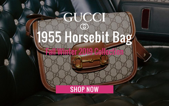Gucci 1955 Horsebit bag Coffee