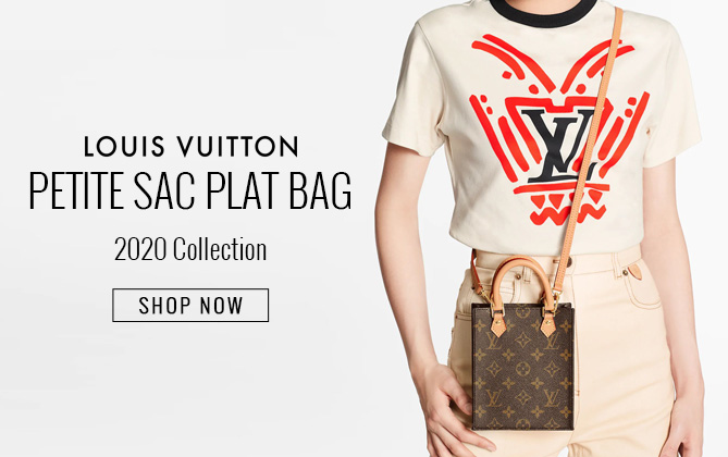 Louis Vuitton Petit Sac Plat M69442 Brown