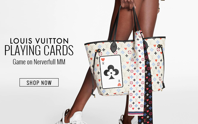 Louis Vuitton Game On Neverfull MM M57462 M57483 White