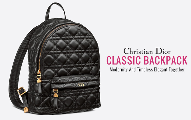 Christian Dior Small Dior Backpack