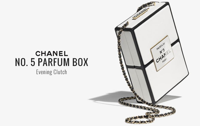 Chanel Evening Bag AS2473 White