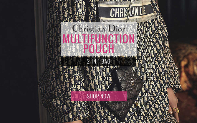 Christian Dior Caro Multifunctional Pouch